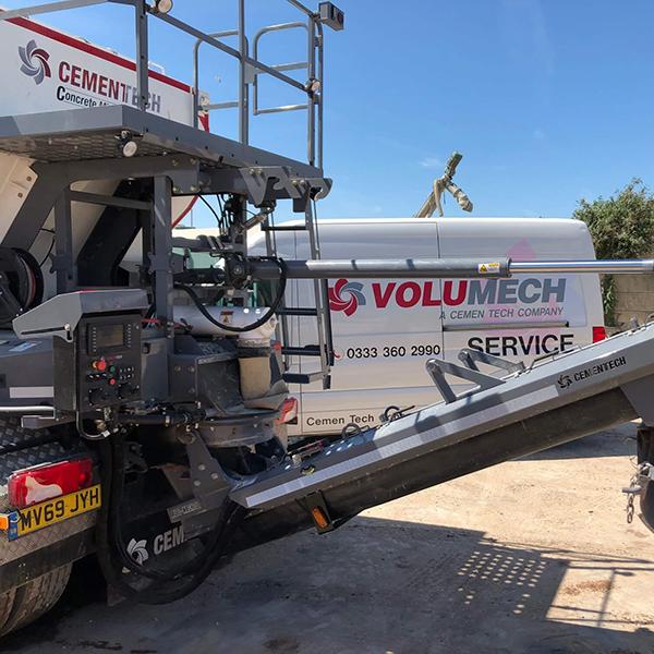 Volumech Service Van Onsite
