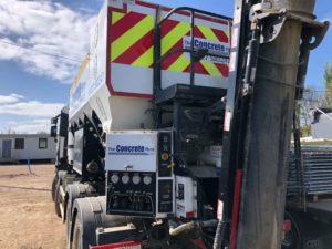 2018 Renault K430 lorry with Omega Rhino 10 volumetric mixer