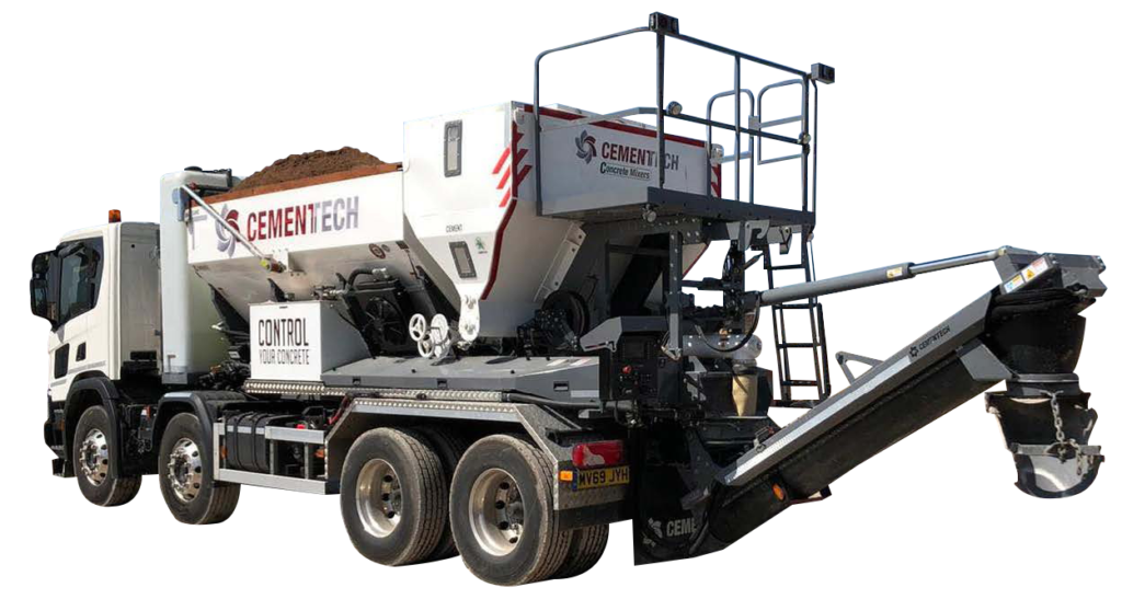 Cemen Tech C60LW Volumetric Concrete Mixer