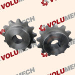Conveyor Drive Sprockets for a Volumetric Concrete Mixer