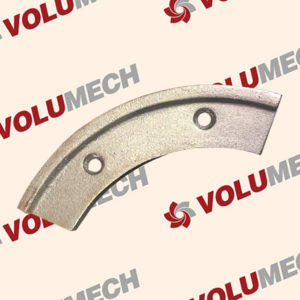 Wear Blades for a Volumetric Concrete Mixer